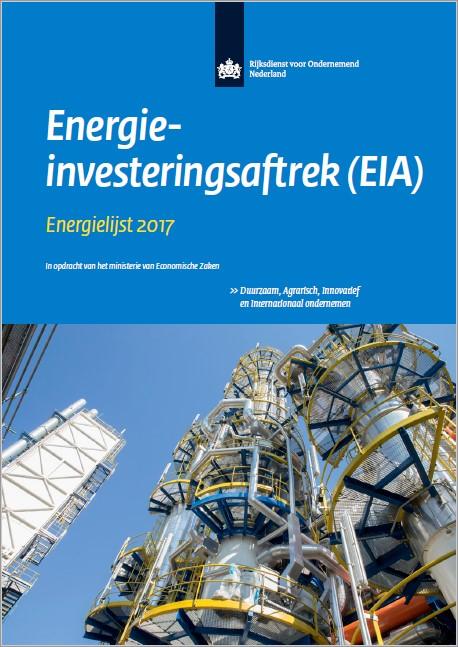 EIA Energielijst 2017