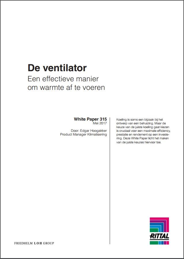 ventilator, whitepaper, effectieve manier om warmte af te voeren