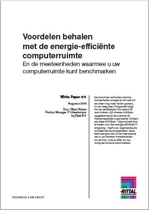 whitepaper voordelen met energie-efficiënte computerruimte