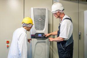 moderne koeltechniek voor Cargill, Rittal projecten