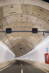 de Victory Boogie Woogie-tunnel
